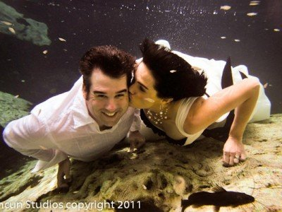 Trash The Dress in Cancun