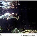 Underwater Trash The Dress Cancun