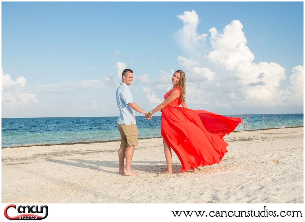 Clothing Options for Cancun Beach Photo Session
