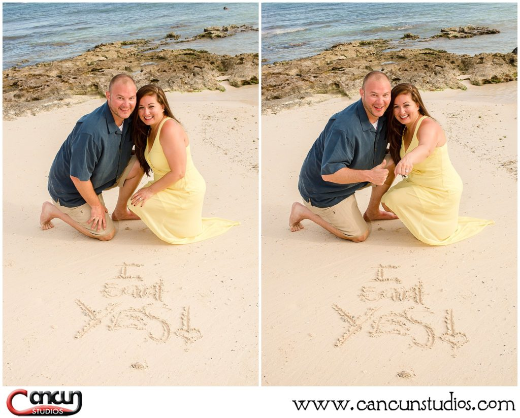Engagement Session in Cancun