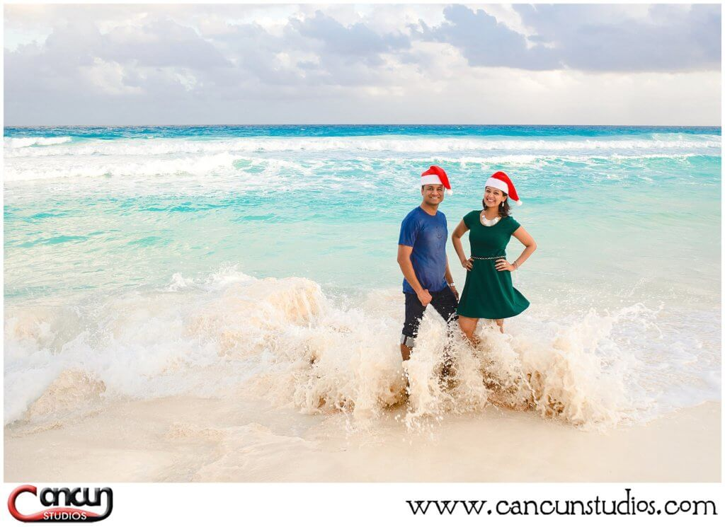 Holiday Beach Photos at Chac mool Beach in Cancun